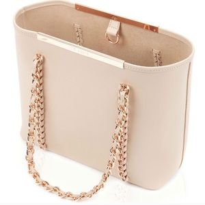 {Ted Baker} Clover Tote with Rose Gold Accents